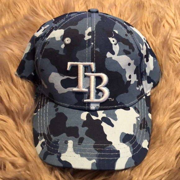 online store cf621 db51e ... adjustable f6035 c81f8  cheapest blue camouflage tampa bay rays hat  30d1b 679df